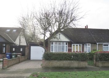 Thumbnail 2 bed semi-detached bungalow for sale in Tennyson Avenue, Grays