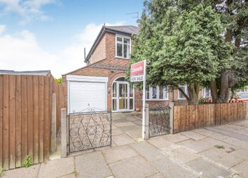 Thumbnail 3 bed semi-detached house for sale in Cranfield Road, Aylestone, Leicester