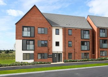 "Thumbnail 2 bed flat for sale in ""Low Cost Apartments"" at Caledonia Road, Off Kiln Farm, Milton Keynes"