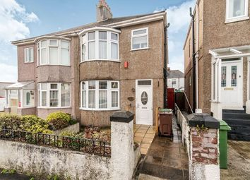 Thumbnail 3 bed semi-detached house for sale in Oakcroft Road, Plymouth
