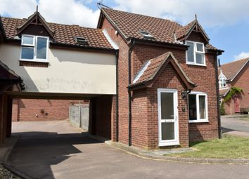 Thumbnail 3 bed link-detached house for sale in Noyes Avenue, Laxfield, Woodbridge