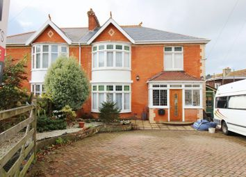 Thumbnail 4 bedroom semi-detached house for sale in St. Brannocks Park Road, Ilfracombe