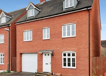 Thumbnail 5 bed detached house to rent in Tortoiseshell Road, Aylesbury