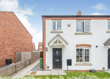 3 bed town house for sale in Kirkwood Close, Leicester Forest East, Leicester LE3