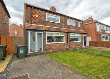Thumbnail 2 bed semi-detached house for sale in Warkworth Avenue, Wallsend