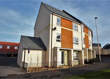 Thumbnail 4 bed town house for sale in Burrough Fields, Exeter