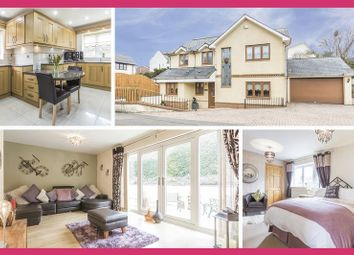 Thumbnail 4 bed detached house for sale in Yew Tree Lane, Caerleon, Newport