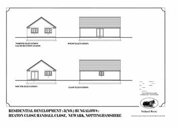 Thumbnail 2 bed detached bungalow for sale in Heaton Close, Newark, Nottinghamshire