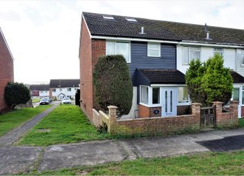 Thumbnail 3 bed end terrace house for sale in Grindle Close, Fareham