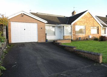 Thumbnail 3 bed semi-detached bungalow for sale in Lon Catwg, Gellinudd, Pontardawe, Swansea