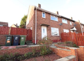 Thumbnail 2 bed semi-detached house for sale in Pennine Gardens, Gateshead