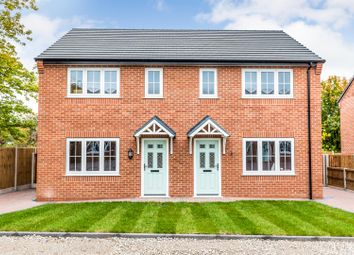 Thumbnail 3 bed semi-detached house for sale in Heathcote Street, Chesterton, Newcastle-Under-Lyme