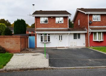 Thumbnail 3 bedroom detached house for sale in Grovefields, Leegomery, Telford, Shropshire