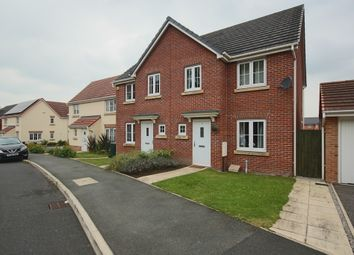 Thumbnail 3 bed semi-detached house for sale in Bracken Ghyll Close, Buckshaw Village, Chorley