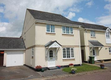 Thumbnail 4 bed detached house for sale in Great Woodford Drive, Plympton, Plymouth