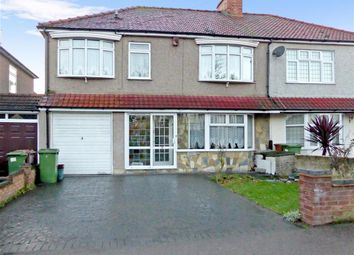 Thumbnail 5 bedroom semi-detached house for sale in Danson Crescent, Welling, Kent