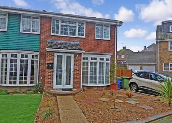 Thumbnail 4 bed semi-detached house for sale in Chatsworth Drive, Sittingbourne, Kent