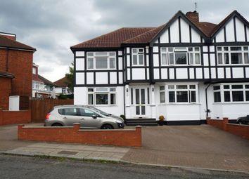Thumbnail 5 bedroom semi-detached house for sale in Lindsay Drive, Kenton