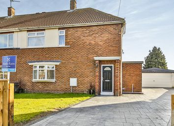 Thumbnail 3 bed semi-detached house for sale in Lumley Crescent, Ferryhill