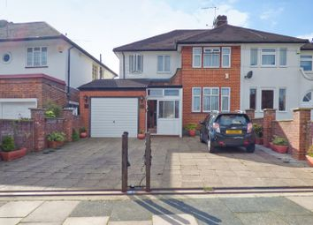 Thumbnail 3 bed semi-detached house for sale in Lakenheath, Oakwood, London