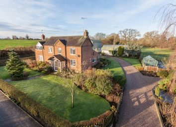 Thumbnail 4 bed detached house for sale in Longhill Lane, Audlem, Crewe