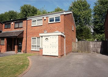 Thumbnail 3 bed semi-detached house for sale in Pailton Road, Solihull