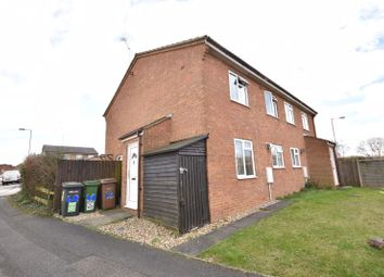 Thumbnail 1 bed end terrace house for sale in Laxton Close, Luton