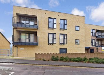 Thumbnail 2 bed flat for sale in Carpeaux Close, Chatham, Kent