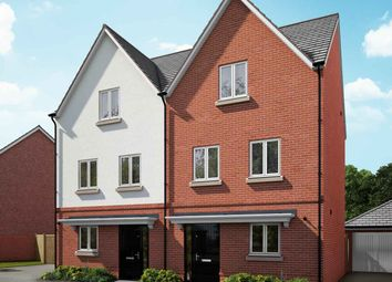 "Thumbnail 4 bed semi-detached house for sale in ""The Elm"" at Hyde End Road, Shinfield, Reading"