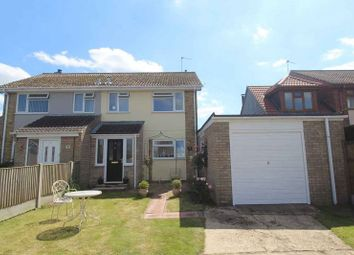 Thumbnail 3 bed semi-detached house for sale in St. James Crescent, Belton, Great Yarmouth