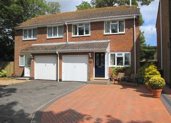 Thumbnail 3 bed semi-detached house for sale in The Coppice, Mudeford, Christchurch
