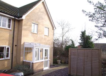 Thumbnail 3 bedroom end terrace house to rent in Heron Road, Saxmundham, Suffolk