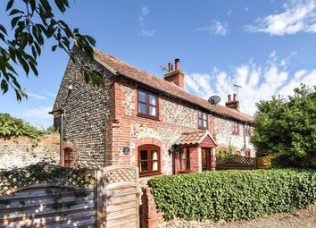 Thumbnail 2 bed cottage for sale in Bunkers Hill, Binham, Fakenham