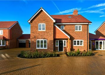 Thumbnail 4 bed detached house for sale in Knight Close, Crookham Village, Fleet