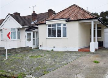Thumbnail 3 bed semi-detached bungalow to rent in Eastern Avenue East, Romford