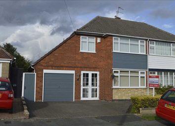 Thumbnail 3 bed semi-detached house for sale in Shardlow Road, Wednesfield, Wednesfield