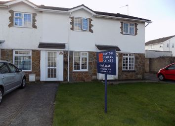 Thumbnail 2 bed terraced house for sale in Fox Hollows, Brackla, Bridgend.