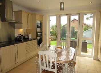 Thumbnail 4 bed detached house for sale in Milton Gardens, Narborough, Leicester