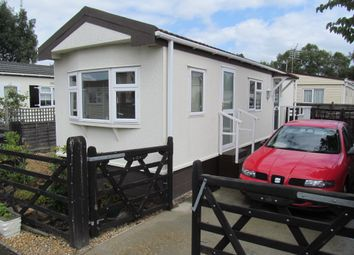 Thumbnail 1 bedroom mobile/park home for sale in Moorgreen Park (Ref: 5680), West End, Southampton, Hampshire, 3Ed
