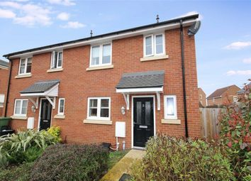 Thumbnail 3 bed end terrace house for sale in Hanwell Close, Redhouse, Swindon