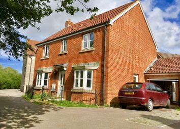Thumbnail 4 bed detached house for sale in Howitt Way, Weston Village, Weston-Super-Mare