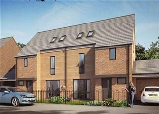 Thumbnail 4 bedroom terraced house for sale in Queensgate, Yarm Road, Stockton On Tees