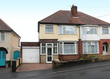 Thumbnail 3 bedroom semi-detached house for sale in Hilltop Road, Dudley