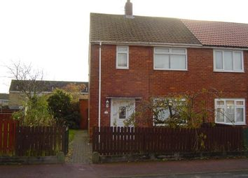 Thumbnail 2 bed semi-detached house for sale in 37 Canterbury Crescent, Willington, Crook, County Durham
