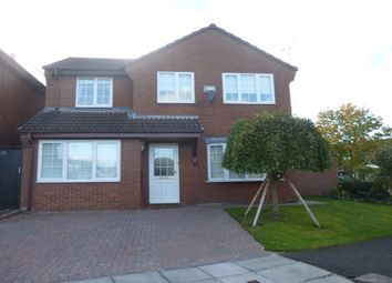 Thumbnail 4 bed detached house to rent in Pullman Close, Heswall, Wirral