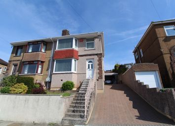 Thumbnail 3 bedroom semi-detached house for sale in Fairview Avenue, Laira, Plymouth