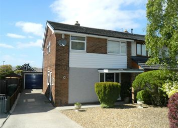Thumbnail 3 bed semi-detached house for sale in Hawkstone Close, Bolton