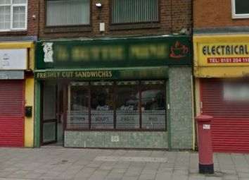 Thumbnail Restaurant/cafe for sale in Liverpool L7, UK
