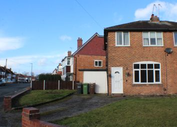 Thumbnail 3 bed semi-detached house to rent in Conway Road, Shirley, Solihull, West Midlands