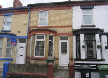 Thumbnail 3 bed terraced house to rent in Briardale Road, Birkenhead, Wirral